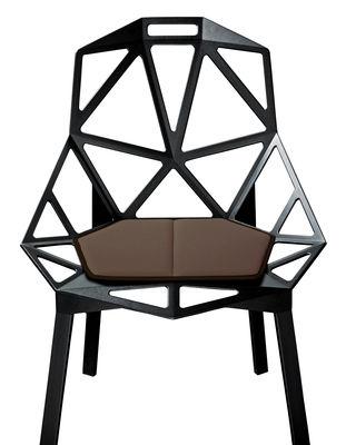 Decoration - Cushions & Poufs - Seat cushion by Magis - Brown - Polyurethane