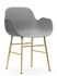 Form Sessel / Stuhlbeine Messing - Normann Copenhagen