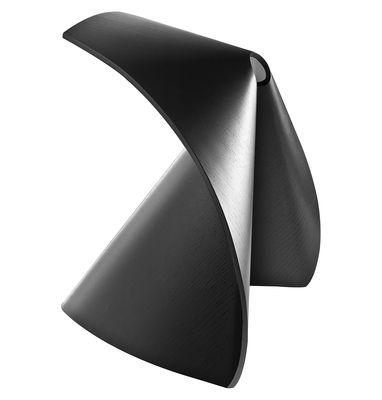 Arredamento - Sgabelli - Sgabello Ap di Lapalma - Noce tinto nero venato - Multistrato finitura rovere