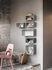Mini Stacked 2.0 Shelf - / Medium carré 33x33 cm / Avec fond by Muuto