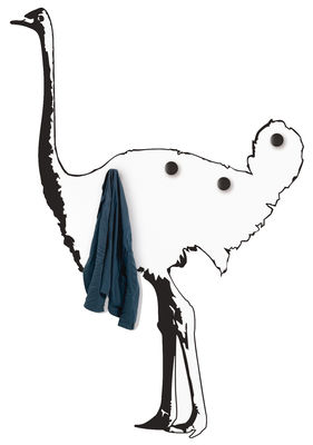 Decoration - Wallpaper & Wall Stickers - Autruche Sticker - Coat stand by Domestic -  - Vinal