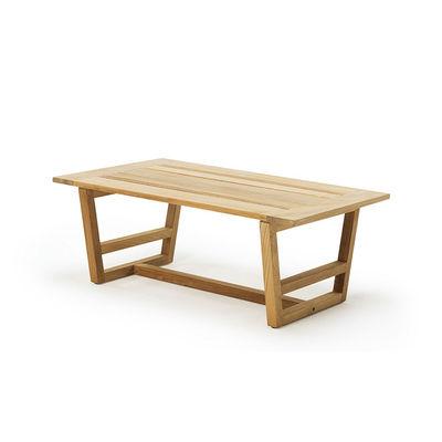 Table basse Costes / 100 x 60 cm - Teck - Ethimo bois naturel en bois