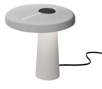 Lighting - Table Lamps - Hoop Table lamp - LED by Martinelli Luce - White - Lacquered aluminium