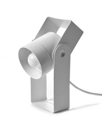 Macari Tischleuchte / Metall - Drehbar - Serax - Weiß