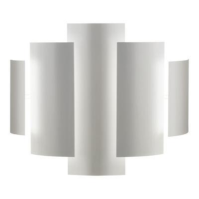Luminaire - Appliques - Applique Skyline - Lumen Center Italia - Blanc - Métal laqué