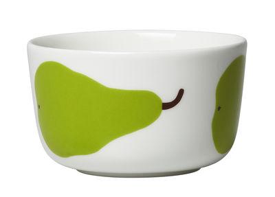 Bol Oiva Päärynä / Ø 9,5 cm - Marimekko blanc,vert en céramique