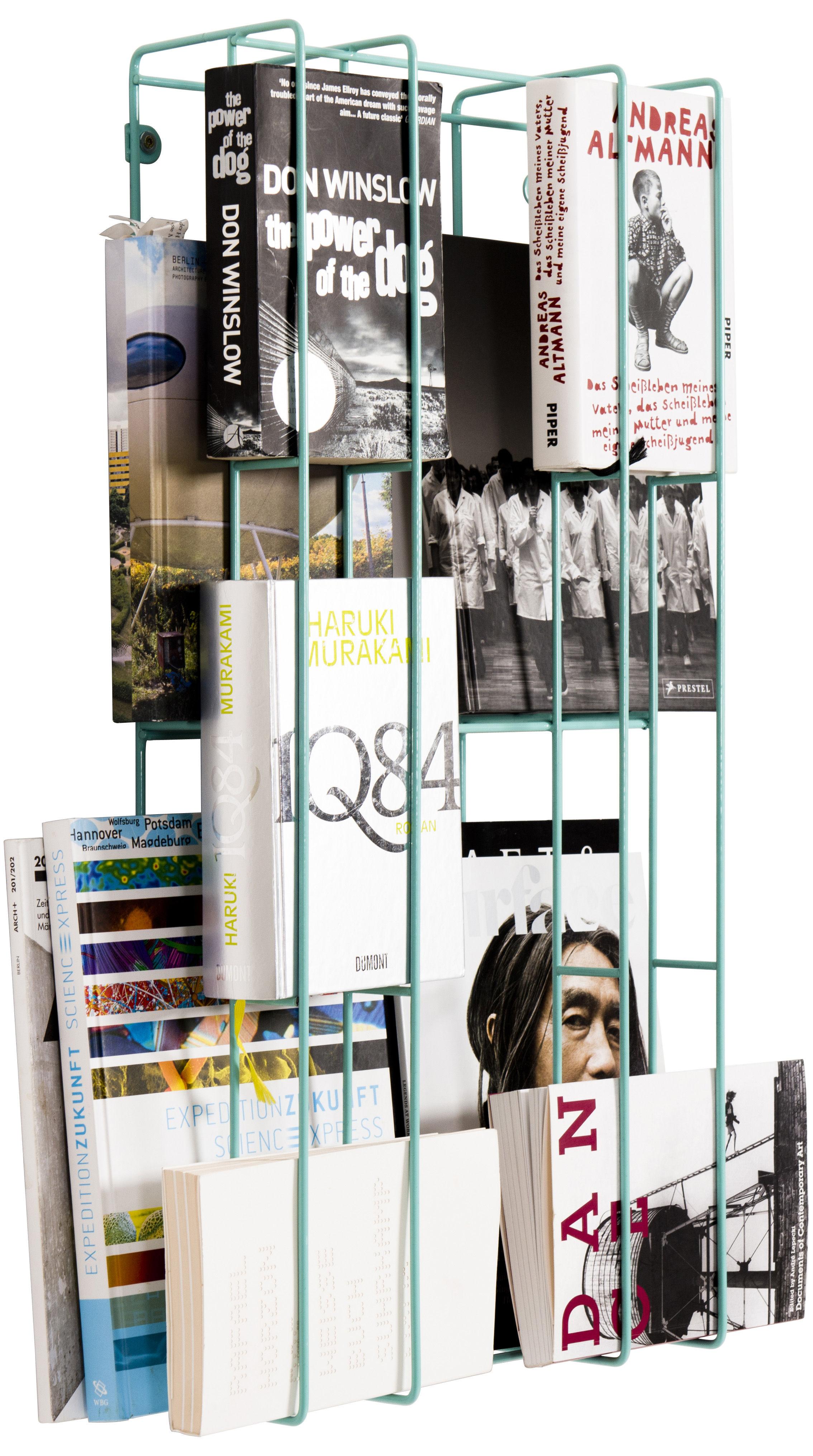 Mobilier - Etagères & bibliothèques - Etagère Cover Small - L 33 cm - Details - Pop Corn - Vert d'eau - Acier