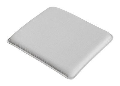 Galette d'assise / Pour chaise & fauteuil Palissade - Hay gris clair en tissu