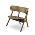 Oaki Low armchair - / Oak by Northern