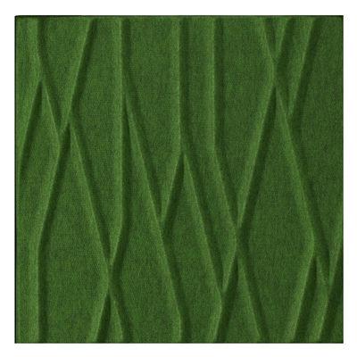 Arredamento - Separè, Paraventi... - Pannello acustico a muro Soundwave Botanic di Offecct - Verde - Fibra di poliestere, Lana