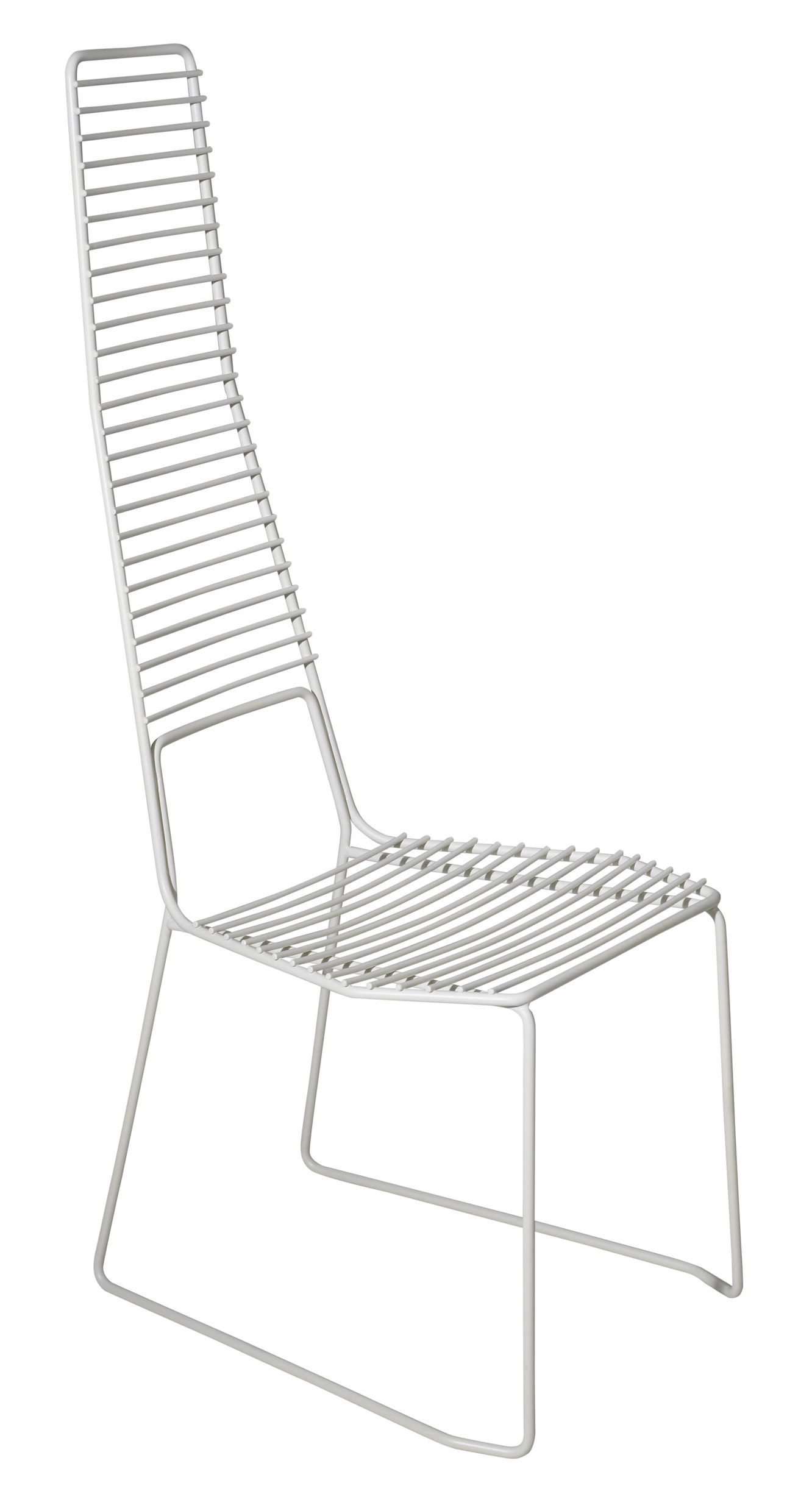 Möbel - Stühle  - Alieno Stuhl - Casamania - Weiß - lackiertes Metall