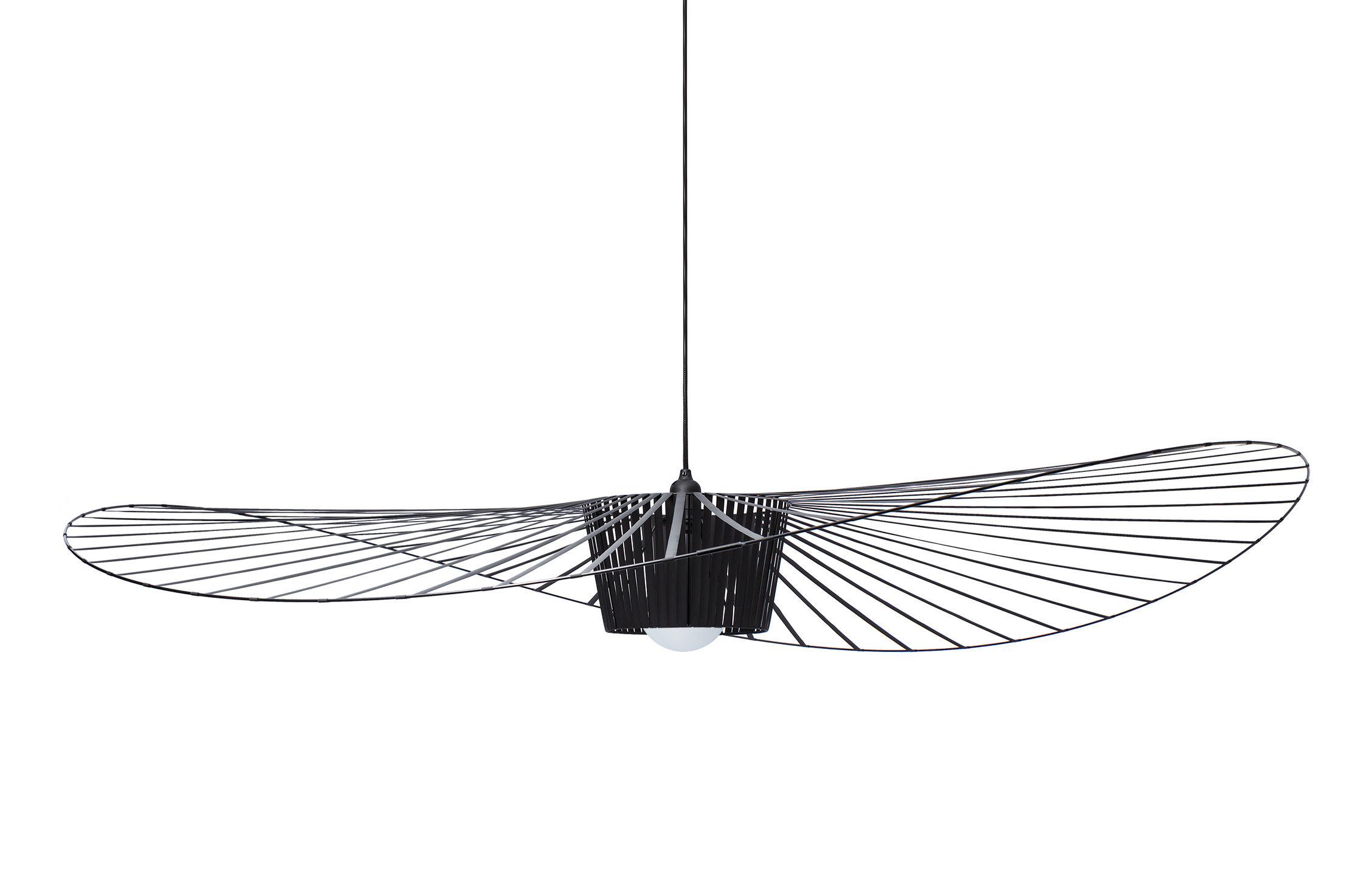 Luminaire - Suspensions - Suspension Vertigo Large / Ø 200 cm - Petite Friture - Noir - Fibre de verre, Polyuréthane