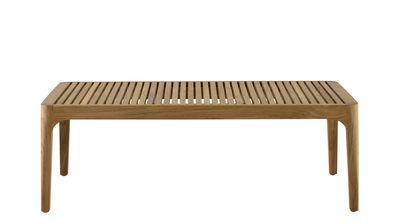 Table basse Elizabeth / 110 x 55 cm - Teck - Cinna teck naturel en bois