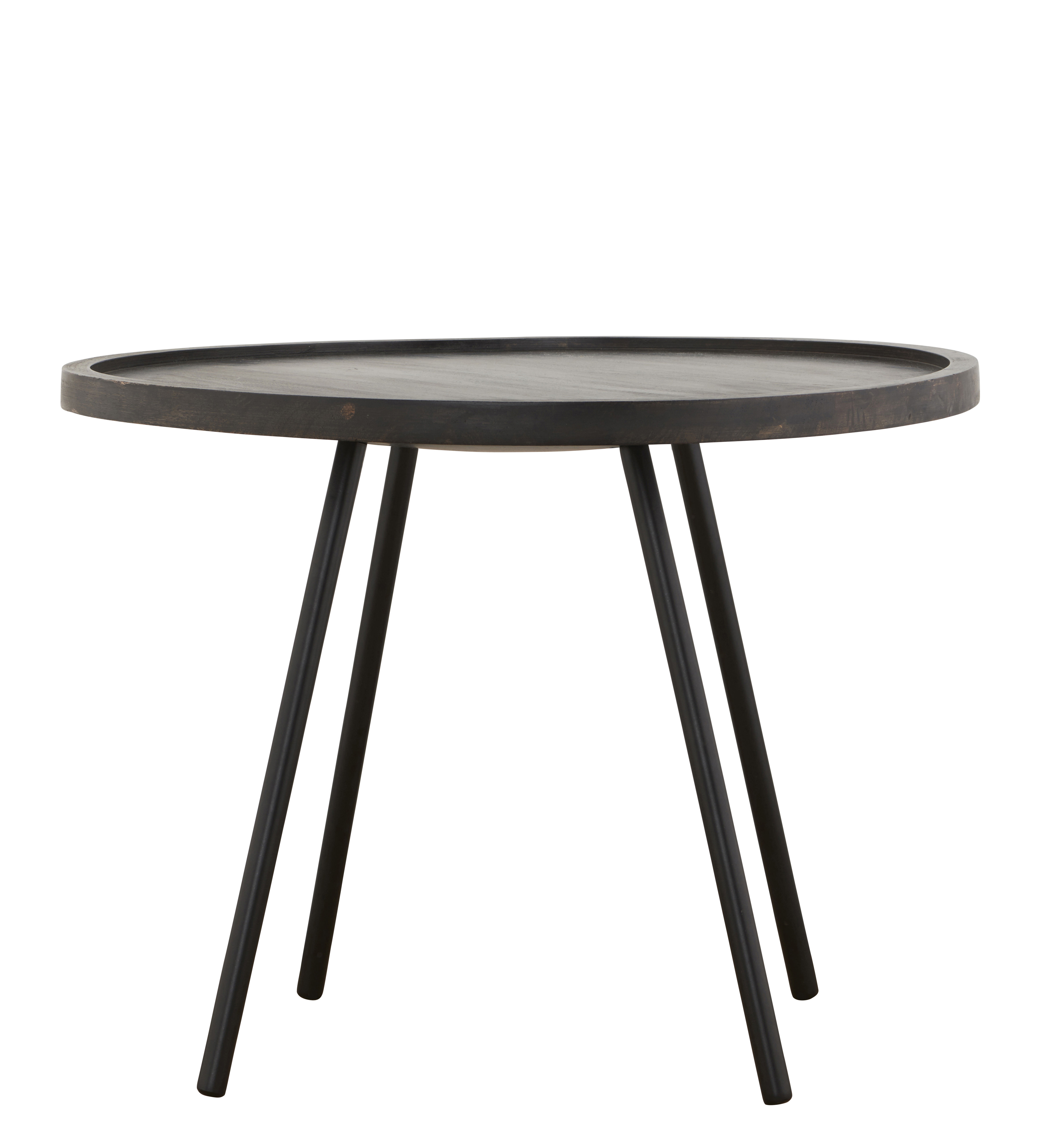 table basse juco 60 x h 45 cm 60 x h 45 cm noir patin house doctor made in design. Black Bedroom Furniture Sets. Home Design Ideas