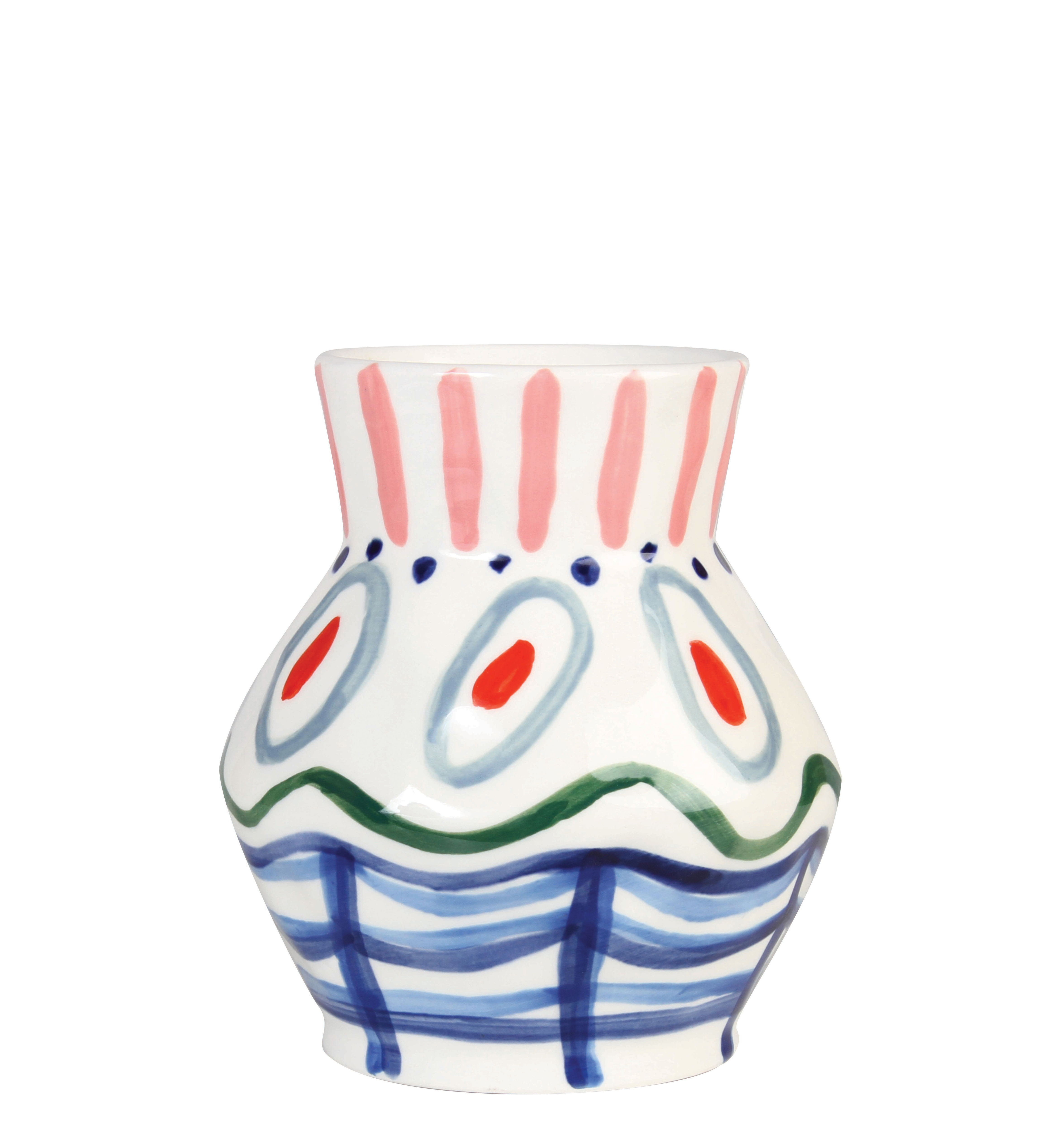 Decoration - Vases - Vase Dalil Vase - / Hand-painted by & klevering - Dalili / Multicoloured - Ceramic
