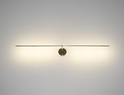 Lighting - Wall Lights - Light stick Wall light - LED - L 61 cm by Catellani & Smith - Aluminium - L 61 cm - Nickel-plate metal