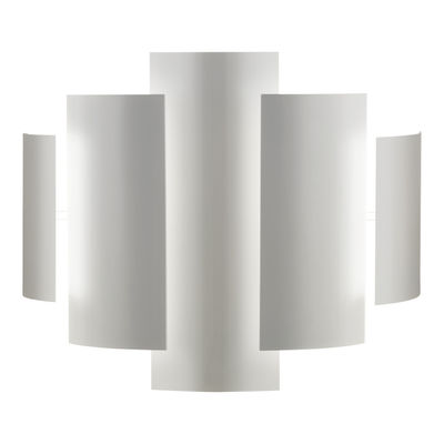 Lighting - Wall Lights - Skyline Wall light - Wall lamp by Lumen Center Italia - White - Lacquered metal
