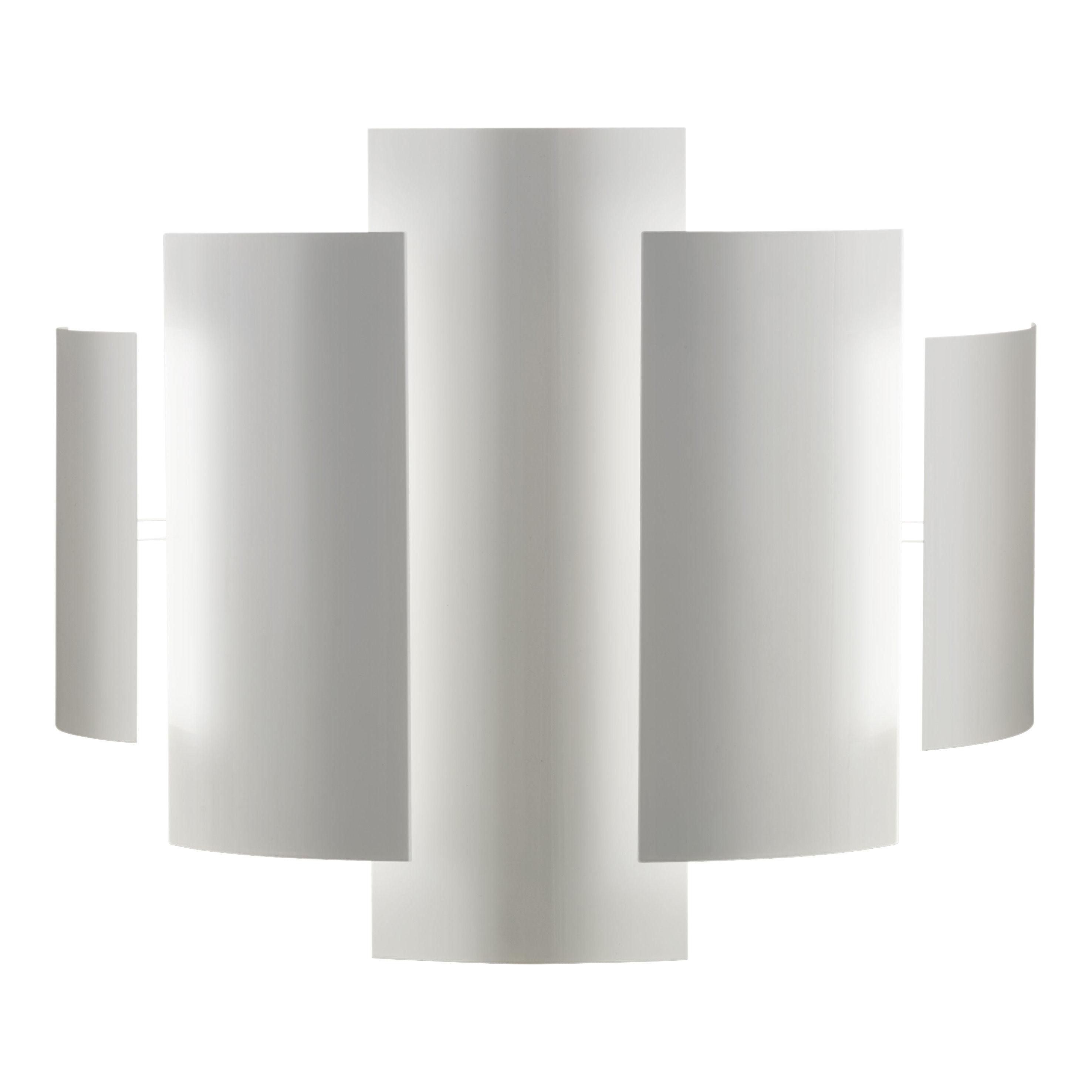 Leuchten - Wandleuchten - Skyline Wandleuchte - Lumen Center Italia - Weiß - lackiertes Metall