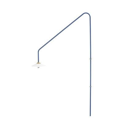 Applique avec prise Hanging Lamp n°4 / H 180 x L 90 cm - valerie objects bleu en métal