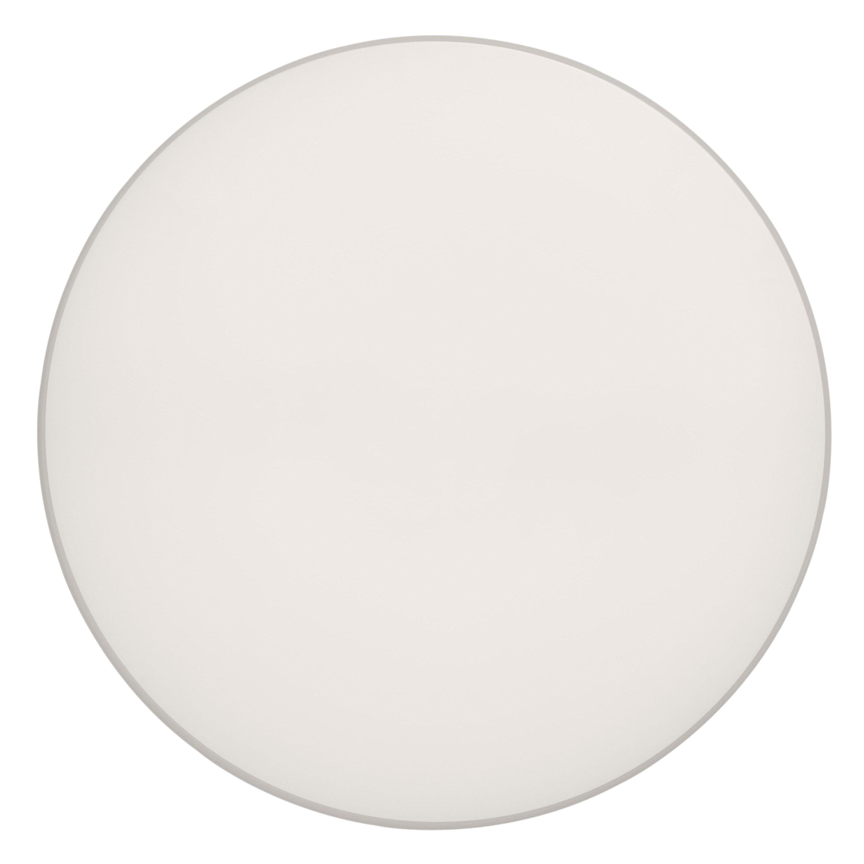 Luminaire - Appliques - Applique Clara LED / Plafonnier - Ø 60 cm - Flos - Disque blanc - Polycarbonate
