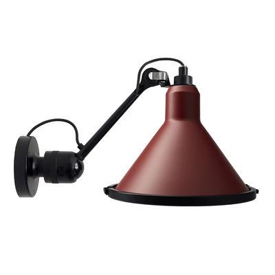 Applique d'extérieur 304 XL Outdoor Seaside / Orientable - Ø 32 cm / Cône - DCW éditions rouge,noir en métal