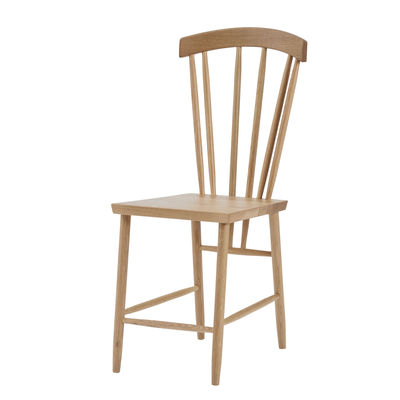 Furniture - Chairs - Family Chair No. 3 Chair - / Solid oak by Design House Stockholm - Oak - Solid oak