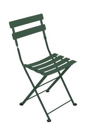 Chaise enfant Tom Pouce / Pliante - Acier - Fermob cèdre en métal