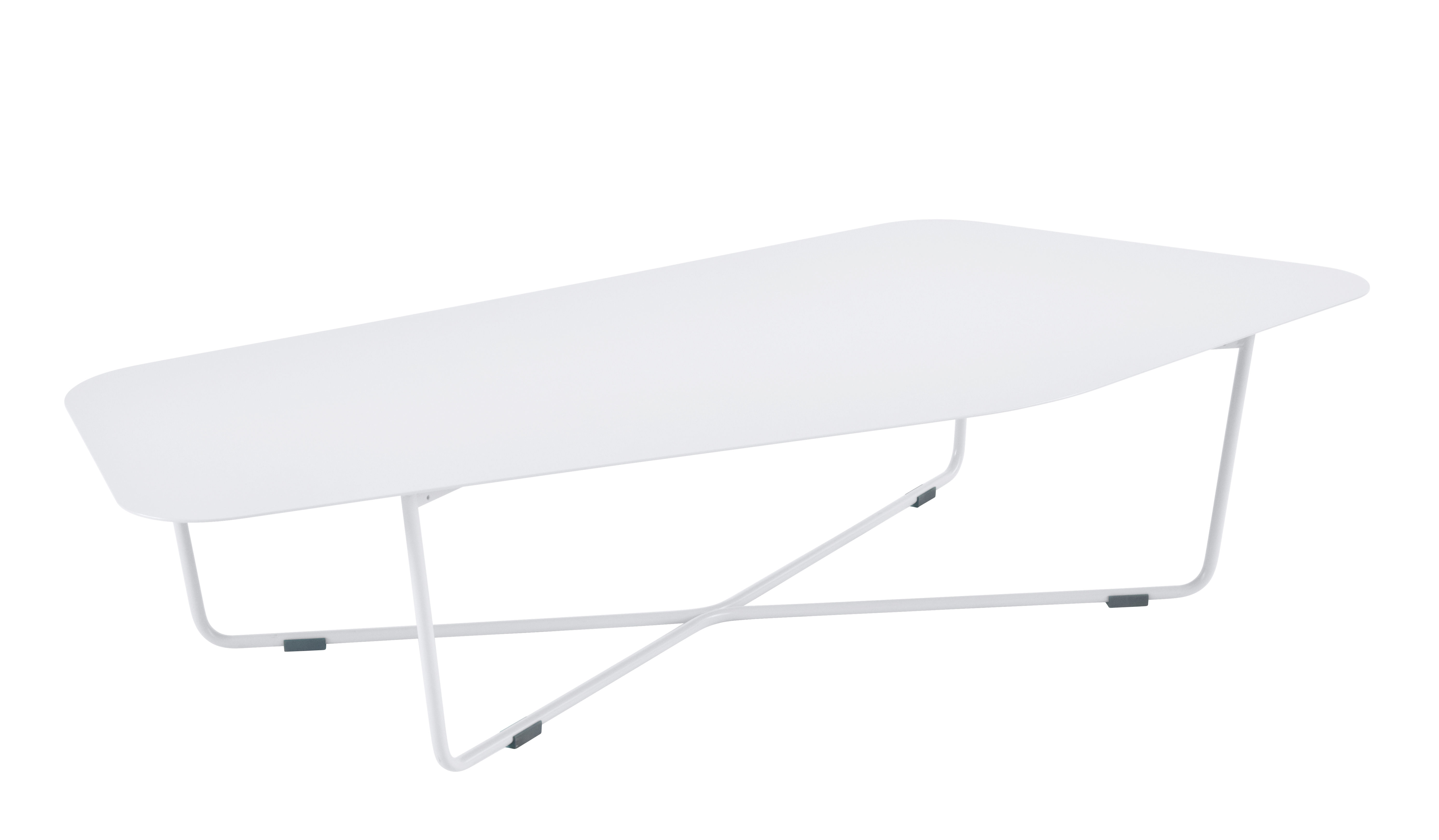 Ultrasofa Couchtisch Metall 162 X 74 Cm Weiss By Fermob Made