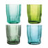 Riffle Glass - / Set of 4 by & klevering