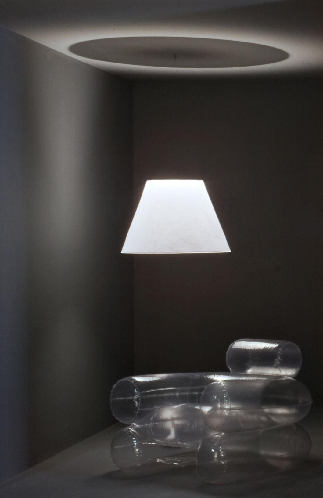 Shade Lampada - / Set proiettore LED da terra + paralume non ...