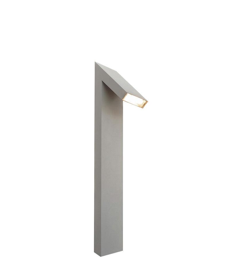 Luminaire - Luminaires d'extérieur - Lampadaire Chilone LED / H 90 cm - Pour l'extérieur - Artemide - Aluminium - Aluminium verni