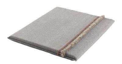 Furniture - Poufs & Floor Cushions - Garden Layers Mattress - / Wide - Handwoven by Gan - Diagonals / Blue & almond - Foam rubber, Polypropylene