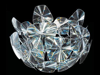 Plafonnier Hope - Luceplan transparent en matière plastique