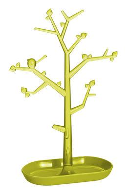 Porte-bijoux PI:P L / H 43,8 cm - Koziol vert olive transparent,vert moutarde en matière plastique
