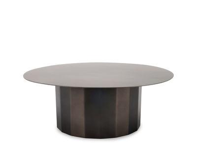 Présentoir à gâteau Doric / Acier inoxydable - XL Boom noir/métal en métal