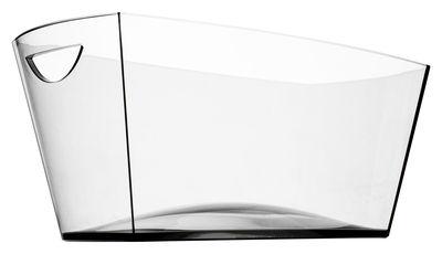 Arts de la table - Bar, vin, apéritif - Seau à champagne Gran Pagoda / 6 bouteilles - Italesse - Transparent - Verre acrylique