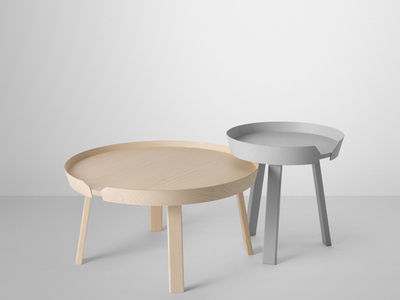 Table Basse Around Muuto Bois Naturel Made In Design