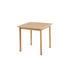 Tavolo quadrato Pevero - 80 x 80 cm - Teak di Unopiu