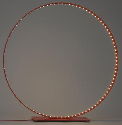 Leuchten - Tischleuchten - Classic Tischleuchte / LED - Ø 63 cm - Le Deun - Rot - Aluminium, Stahl