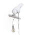 Bird Looking Wall light with plug - / Wall - Perched raven by Seletti