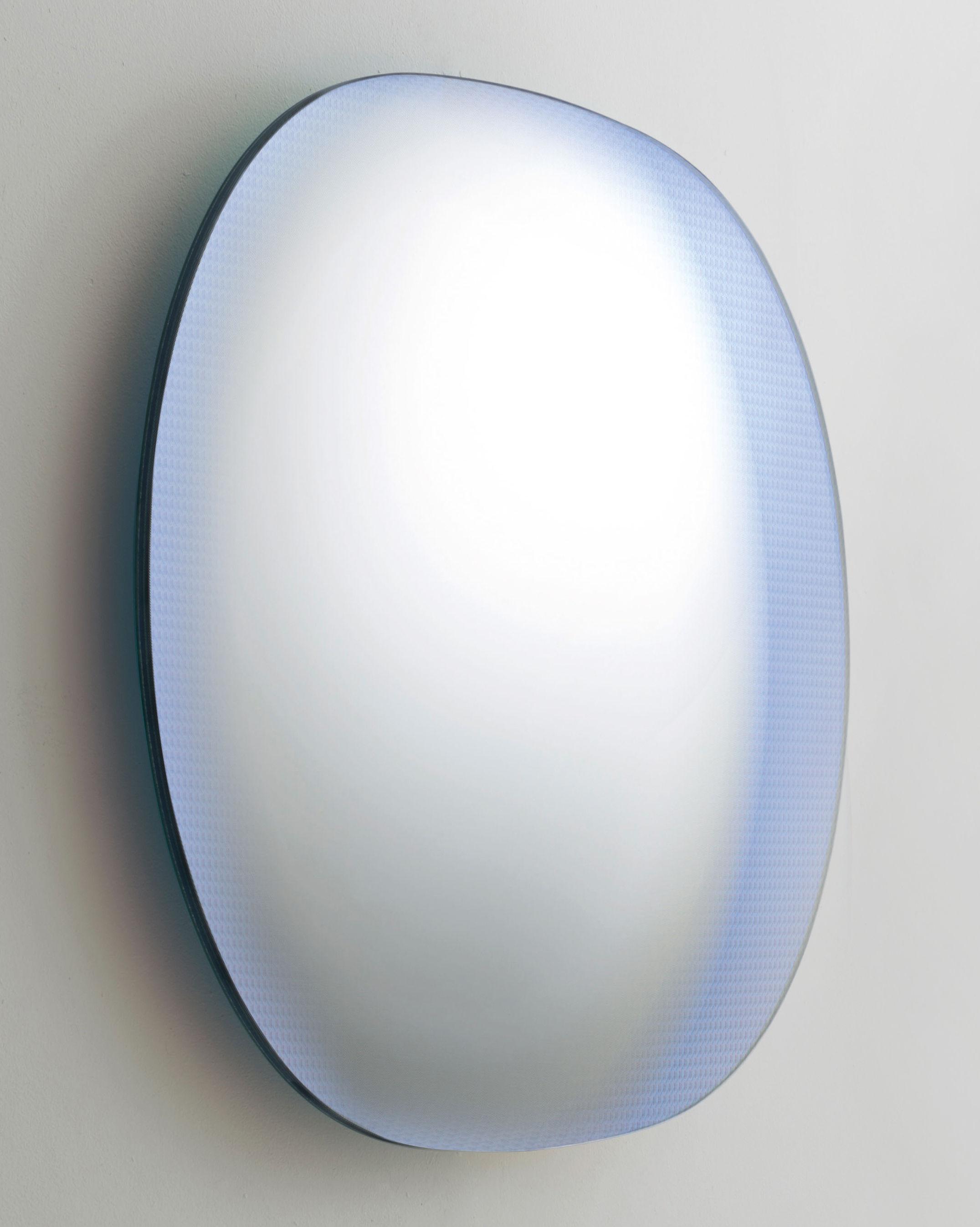 Decoration - Mirrors - Shimmer Wall mirror - L 100 x H 80 cm by Glas Italia - Multicolor - Glass