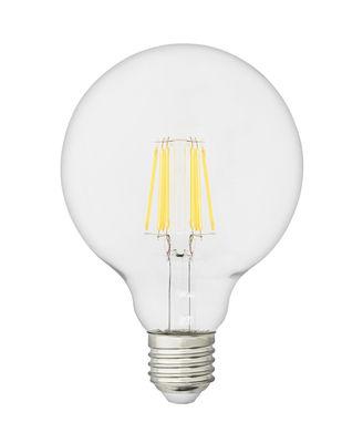 Ampoule LED filaments E27 Globe / 8W - 800 lumen - Normann Copenhagen transparent en verre