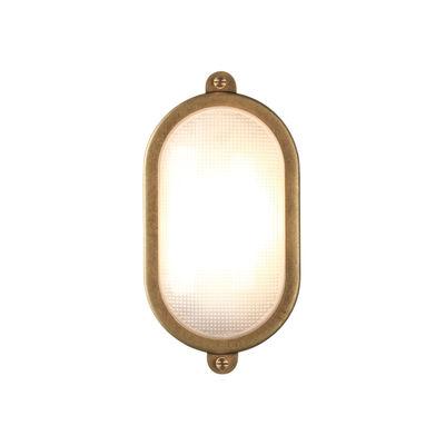 Applique Malibu Oval / Plafonnier - 15 x 29 cm - Astro Lighting laiton vieilli en métal