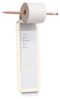 Accessoires - Accessoires bureau - Bloc-notes Notes à l'infini - L'atelier d'exercices - Blanc - Acier
