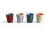 Corbeille à papier Paper Paper / En papier recyclé - Ø 28 x H 30,5 cm - Hay
