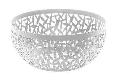 Corbeille Cactus / Ø 21 cm - Alessi blanc en métal
