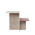 Distinct End table - / Acrylic stone by Ferm Living