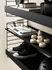 Etagère String® System / Métal perforé, rebord HAUT - L 58 x P 20 cm - String Furniture