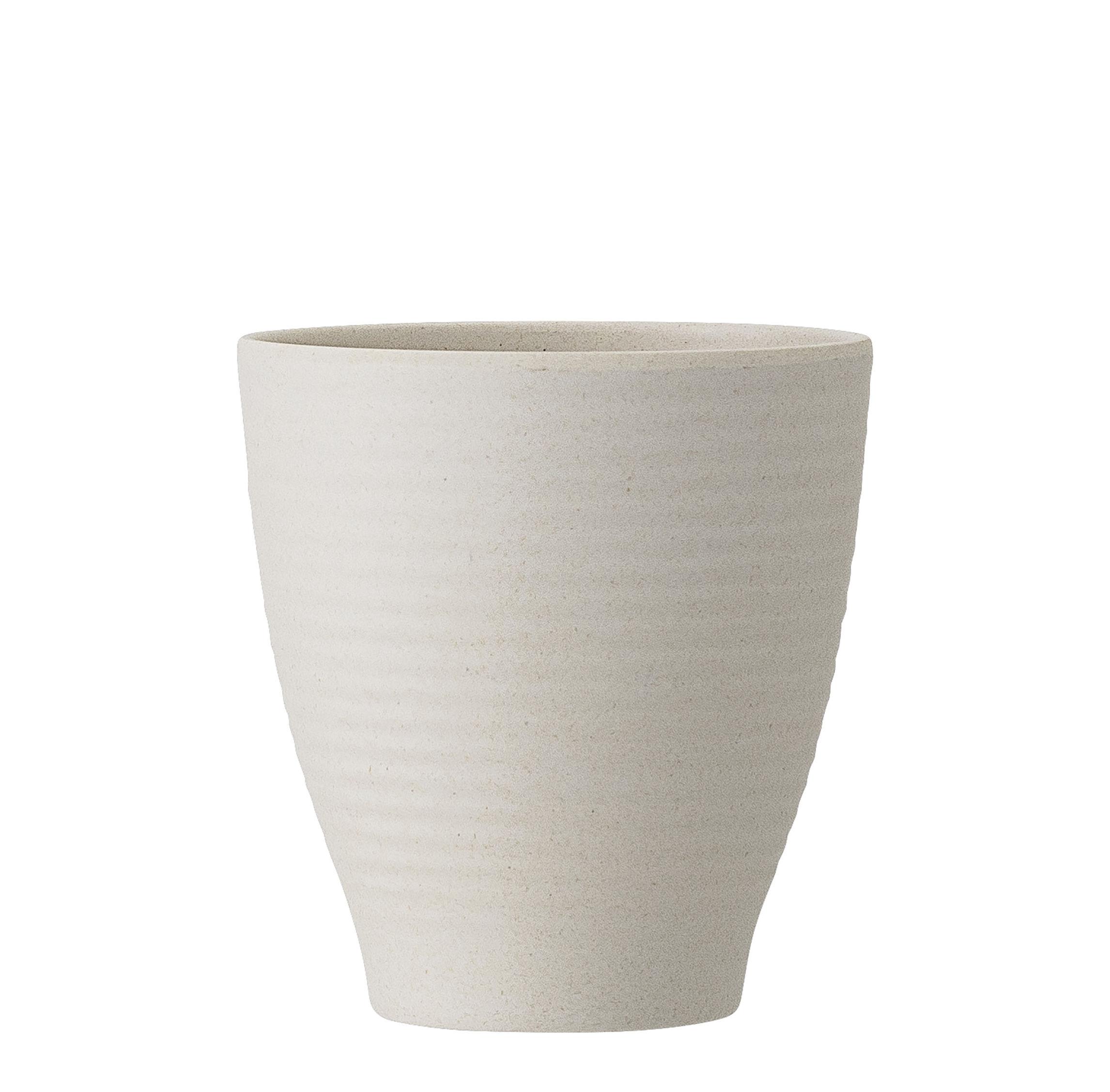 Arts de la table - Tasses et mugs - Gobelet Java / Bambou - Ø 8,5 cm - Bloomingville - Blanc naturel - Fibre de bambou