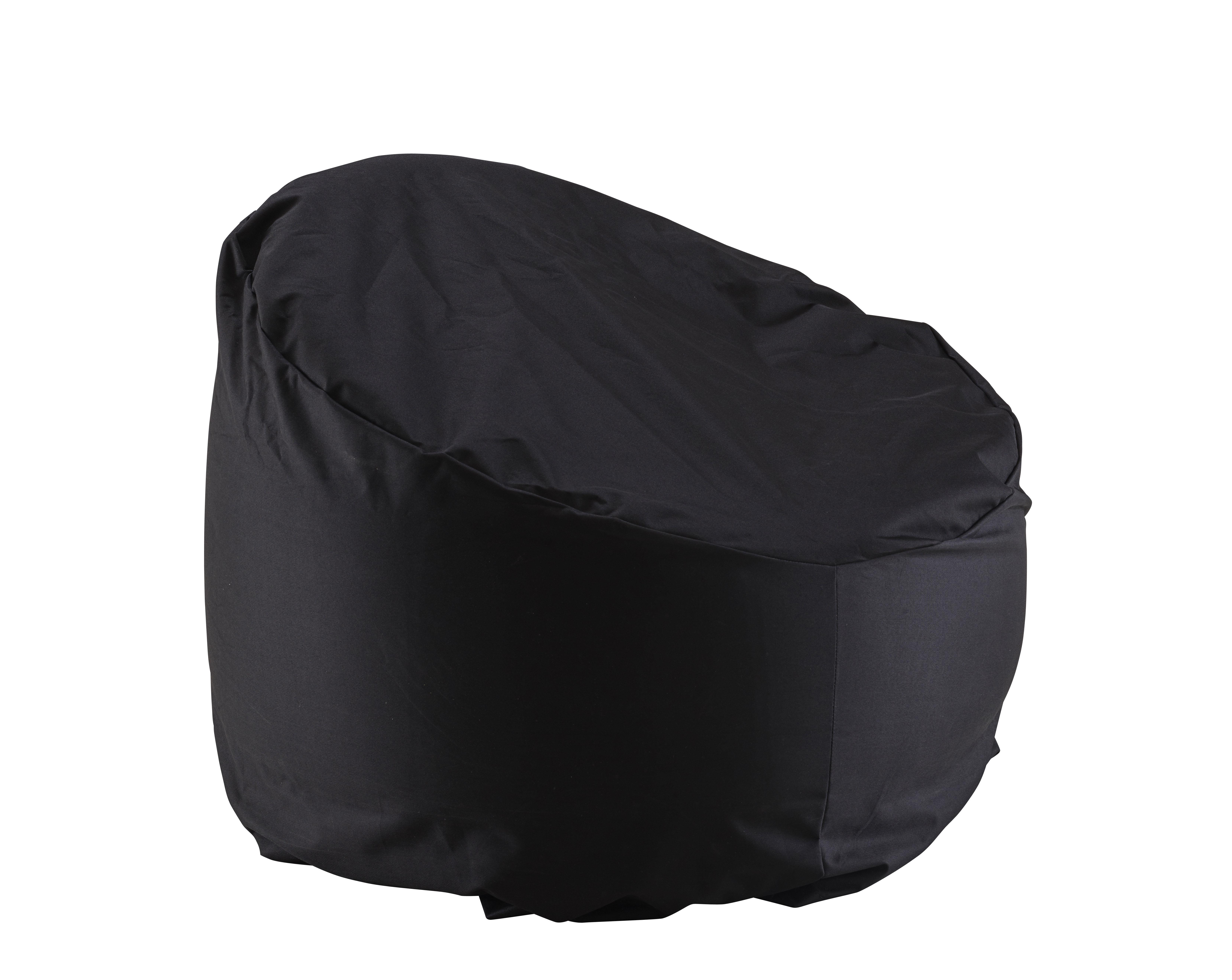 Mobilier - Fauteuils - Housse de protection / Pour fauteuil Ottoman - Cinna - Noir - Nylon renforcé